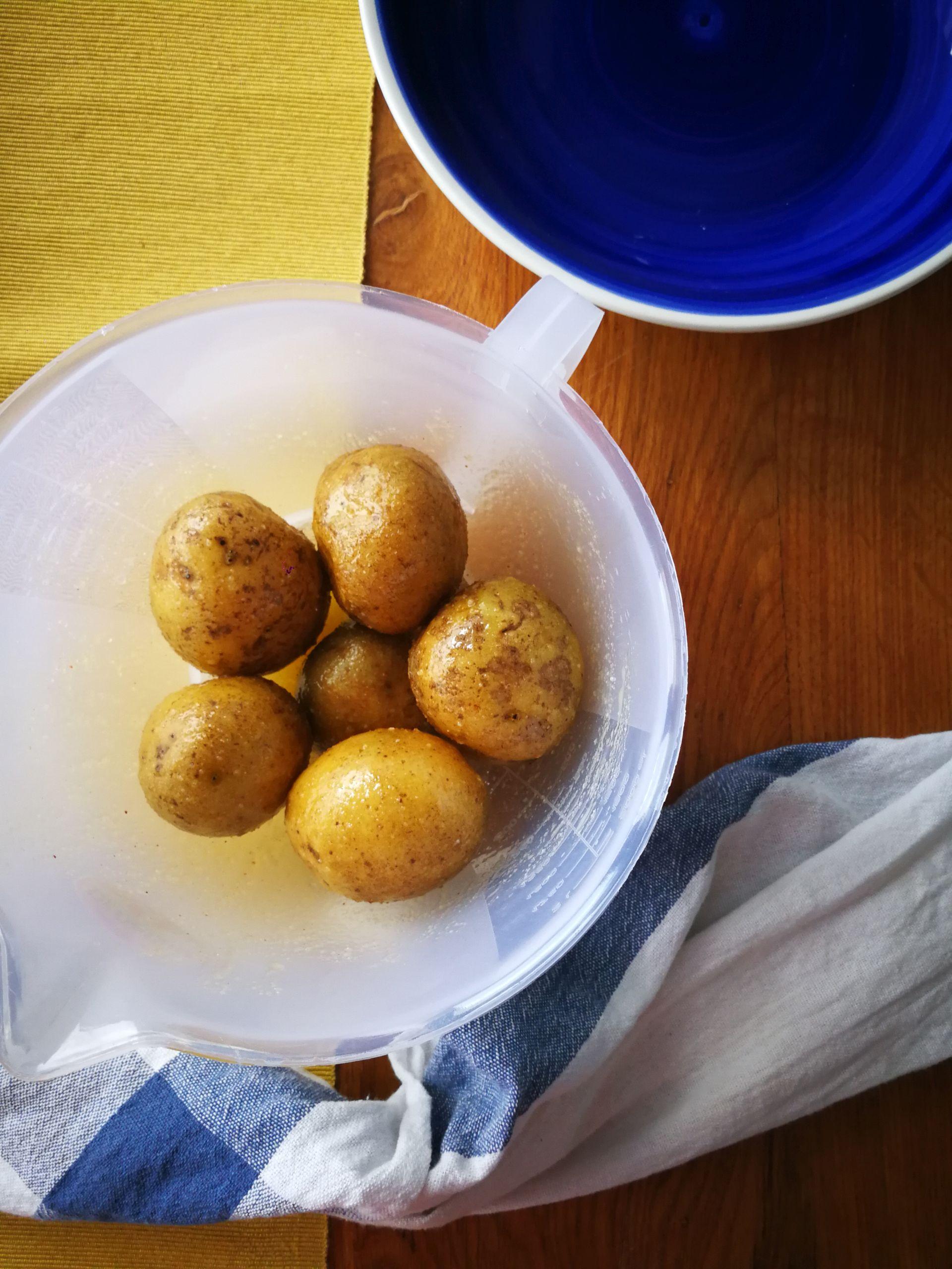 cartofi copți